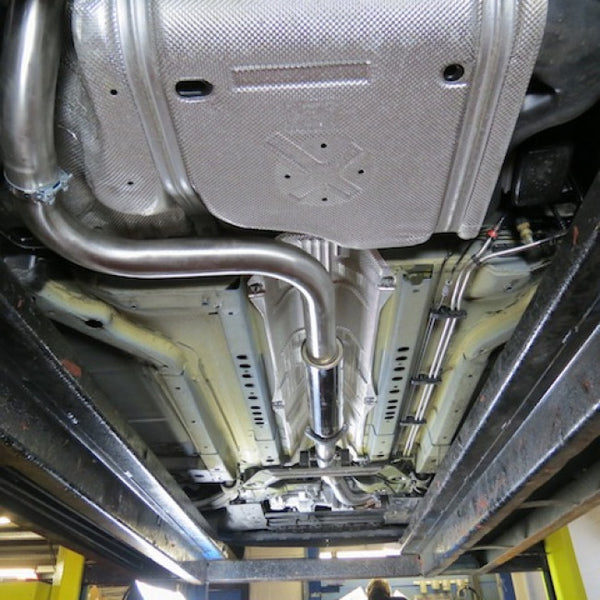 Vauxhall Astra J VXR Cat Back Sports Exhaust System
