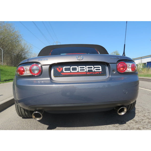 MZ05 Cobra Sport Mazda MX5 (NC) Rear Sports Exhaust