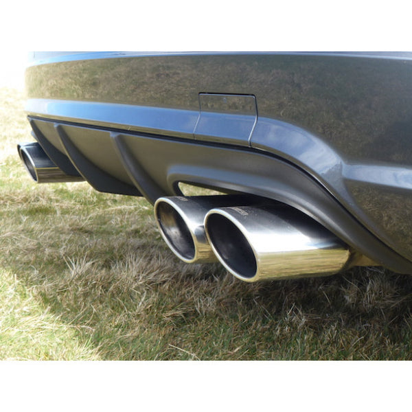ME15 Cobra Sport Mercedes W204 C180 (1.6 Litre Turbo Petrol) AMG Quad Rear Sports Exhaust