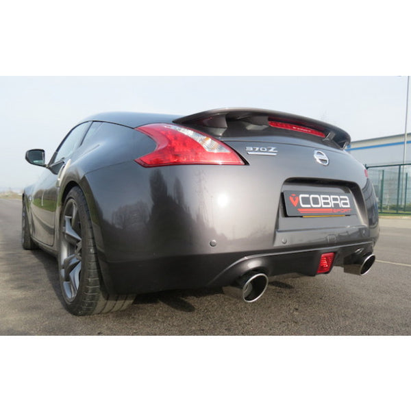 NZ17 Cobra Sport Nissan 370Z Centre & Rear Sports Exhaust