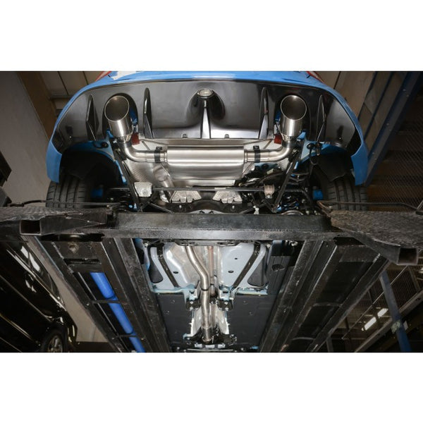 FD88 Cobra Sport Ford Focus RS (Mk3) Cat Back System (Non-resonated) (valveless)