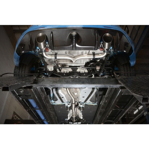 FD97c Cobra Sport Ford Focus RS (Mk3) Turbo Back System (with De/Cat) Venom (valvetronic)