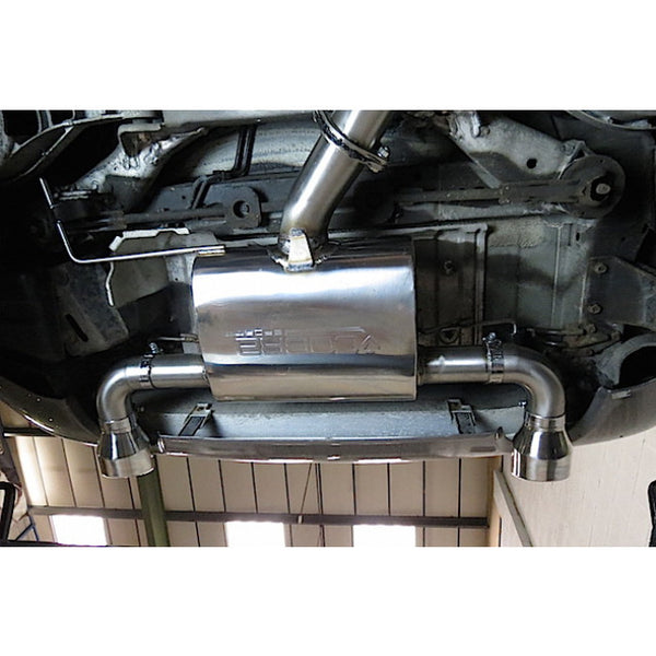 NZ01 Cobra Sport Nissan 350Z Sports Exhaust Centre & Rear Sections - Cobra Sport