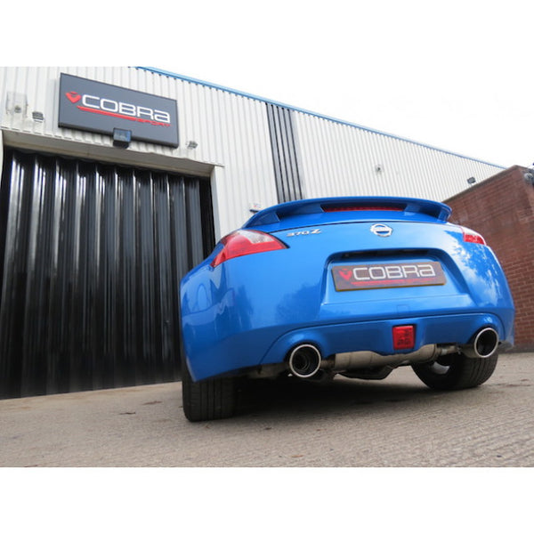 NZ15 Cobra Sport Nissan 370Z Sport Exhaust Centre & Rear Sections - Cobra Sport