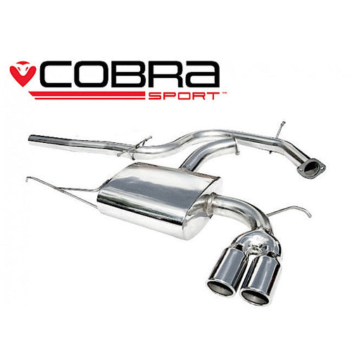 SE18 Cobra Sport Seat Leon 2.0 TDi (170bhp)(1P-Mk2) Cat Back Sports Exhaust