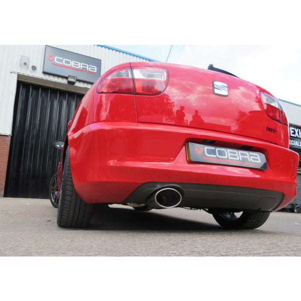 SE03 Cobra Sport Seat Leon 1.8T Cupra (1M-Mk1) Cat Back Sports Exhaust