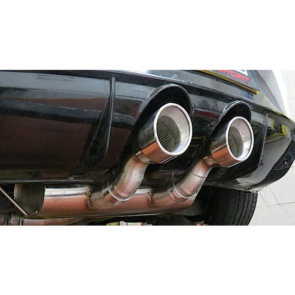 SE29a Cobra Sport Seat Leon Cupra R (1P-Mk2) Turbo Back Sports Exhaust