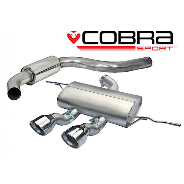 SE28 Cobra Sport Seat Leon Cupra R (1P-Mk2) Cat Back Sports Exhaust