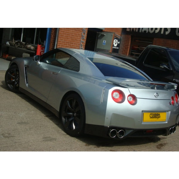 NZ12 Cobra Sport Nissan Skyline R35 Cat Back Sports Exhaust