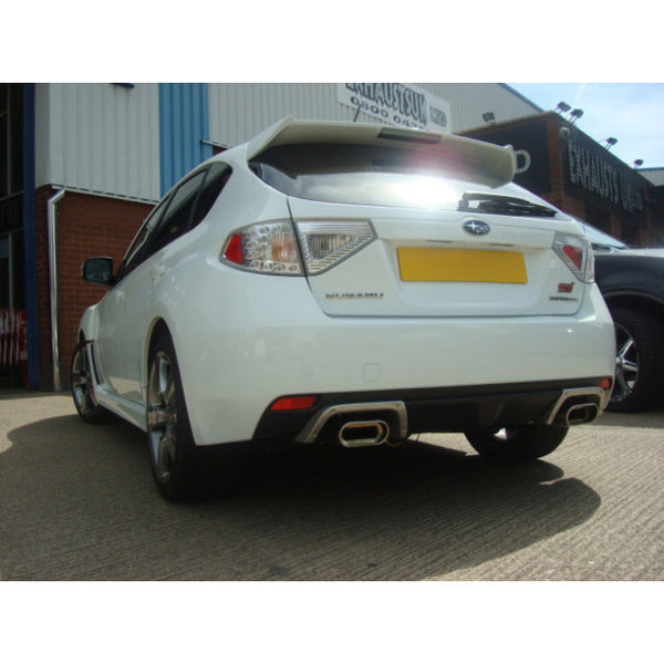 SU76d Cobra Sport Subaru Impreza STI Turbo Turbo Back Sports Exhaust Package