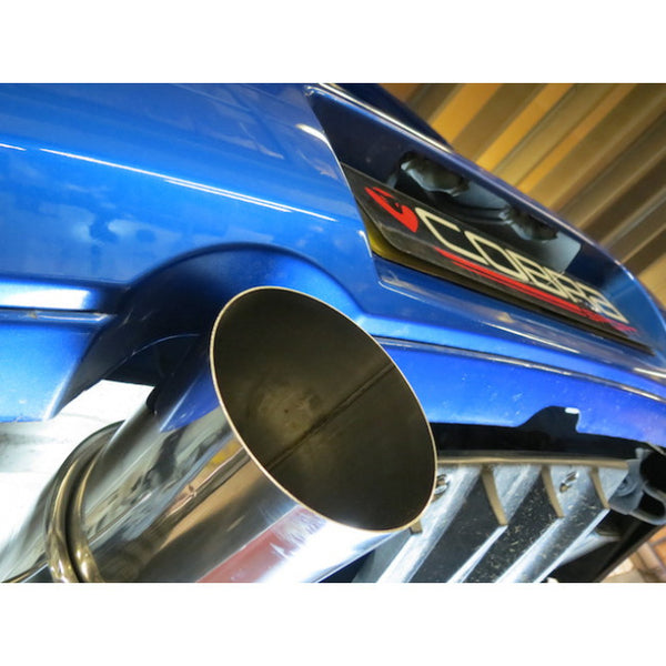 SB02y Cobra Sport Subaru Impreza Turbo Cat Back Sports Exhaust