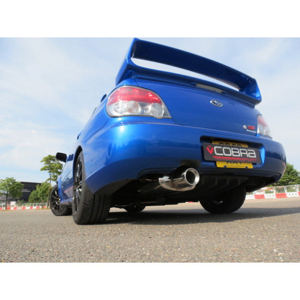 SC31c Cobra Sport Subaru Impreza Turbo Track Day Turbo Back Sports Exhaust Package