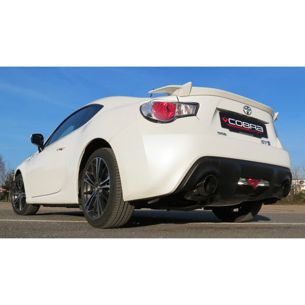SU77 Cobra Sport Subaru BRZ Cat Back Sports Exhaust System