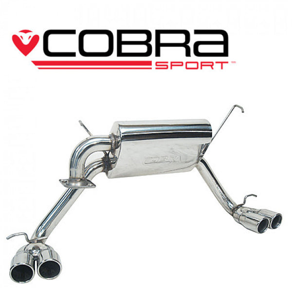 TY06 Cobra Sport Toyota MR2 Roadster Cat Back Sports Exhaust