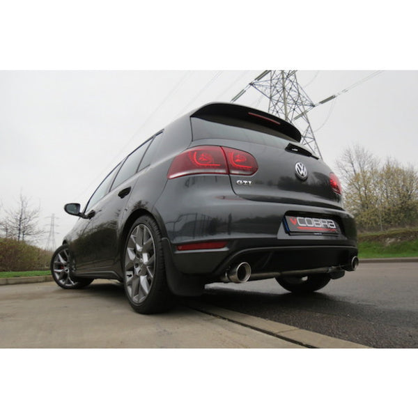 VW37 Cobra Sport VW Golf GTI MK6 (5K) Cat Back Venom Sports Exhaust