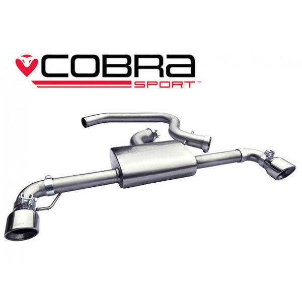 VW35 Cobra Sport VW Golf GTI MK6 (5K) Cat Back Sports Exhaust System