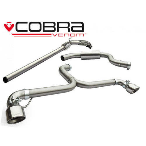VW40a Cobra Sport VW Golf GTI MK6 (5K) Turbo Back Venom Sports Exhaust
