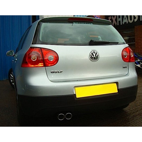 VW07 Cobra Sport VW Golf MK5 (1K) 1.9 TDi Cat Back Sports Exhaust System