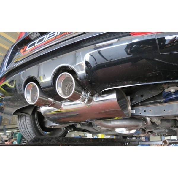 VW25 Cobra Sport VW Golf R MK6 Cat Back Sports Exhaust System
