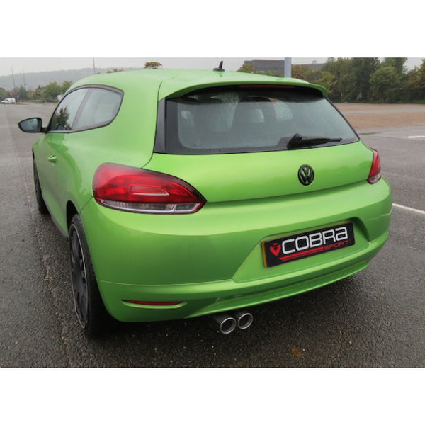 VW12 Cobra Sport VW Scirocco 1.4 TSI Cat Back Sports Exhaust System