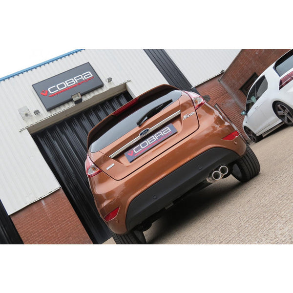 FD73 Cobra Sport Ford Fiesta MK7 Zetec 1.0L Eco-Boost Sports Exhaust