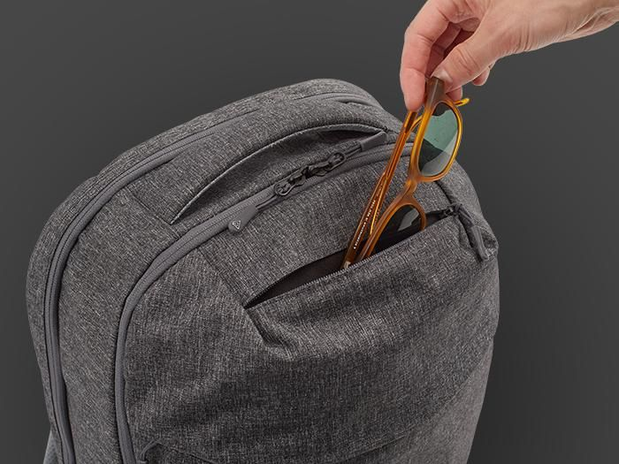 Top pocket is ideal for small and valuable items.