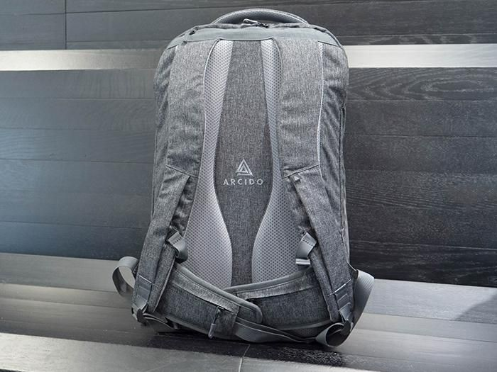 Akra is a very comfortable backpack.