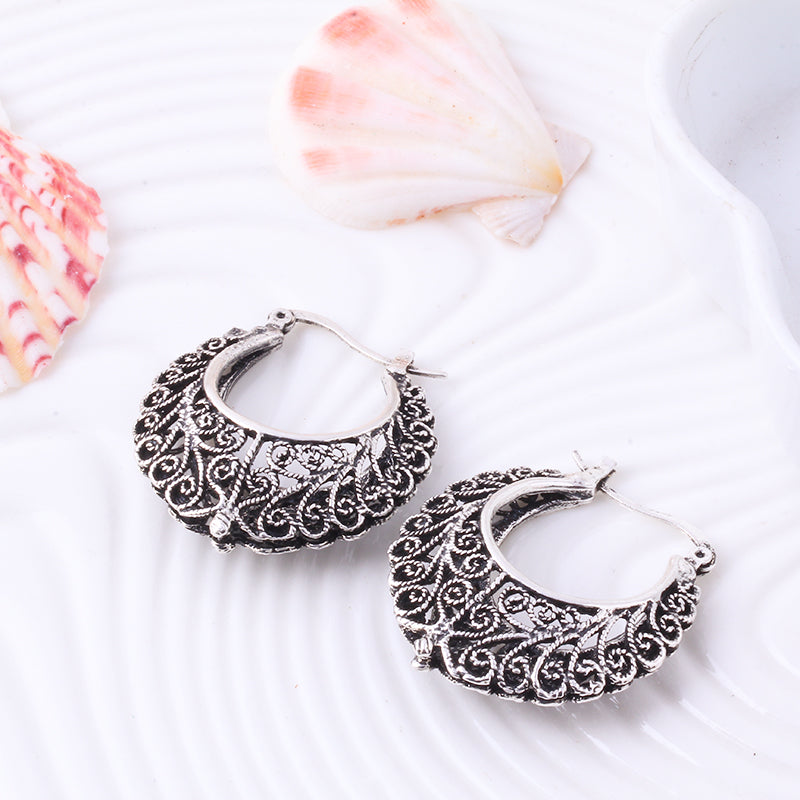 Eline Ornate Boho Earrings