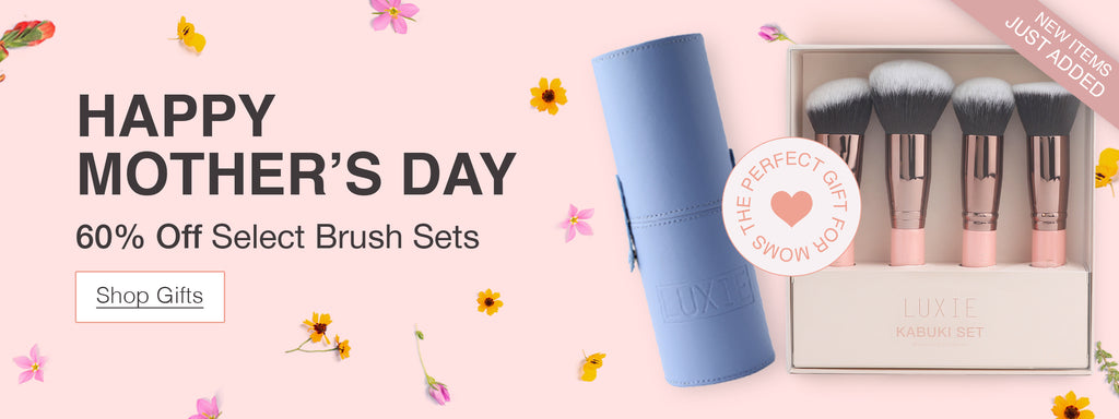 Happy Mother's Day 60% Off Select Brush Sets. Shop Gifts.