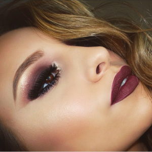 Fall inspired eye look by @vegas_nay