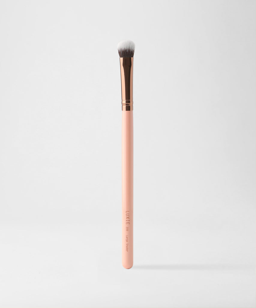 LUXIE 209 Large Shader Brush - Rose Gold - luxiebeauty