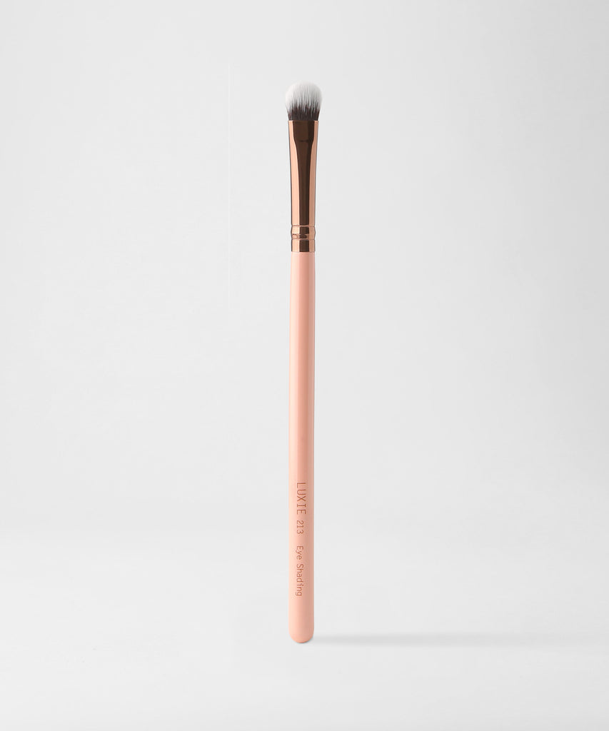 LUXIE 213 Eye Shading Brush - Rose Gold - luxiebeauty