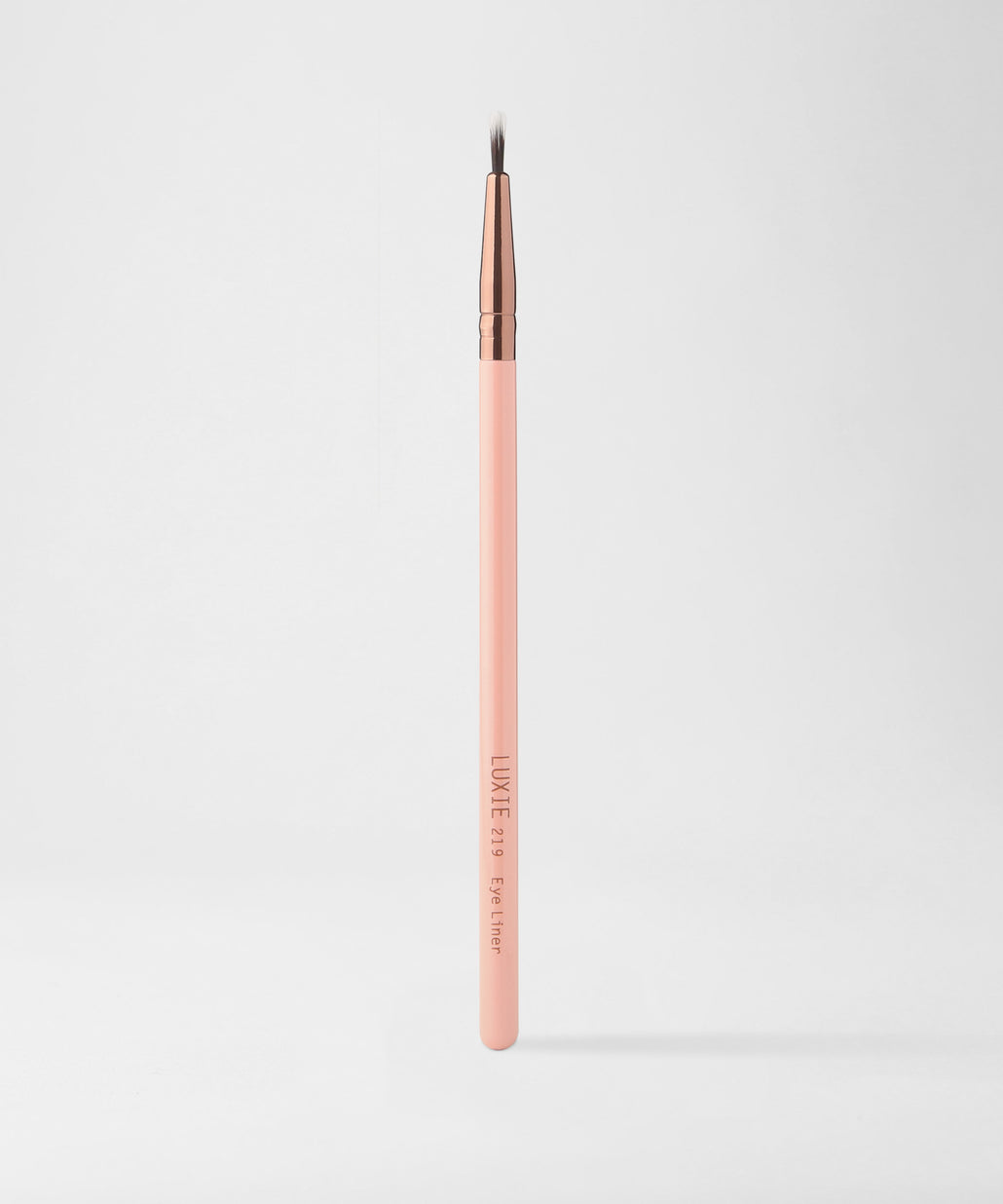 LUXIE 219 Eye Liner Brush - Rose Gold