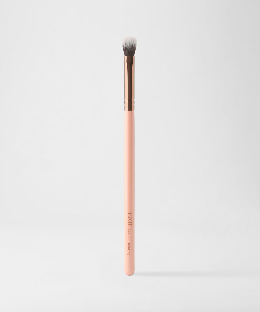 LUXIE 227 Blending Brush - Rose Gold - luxiebeauty