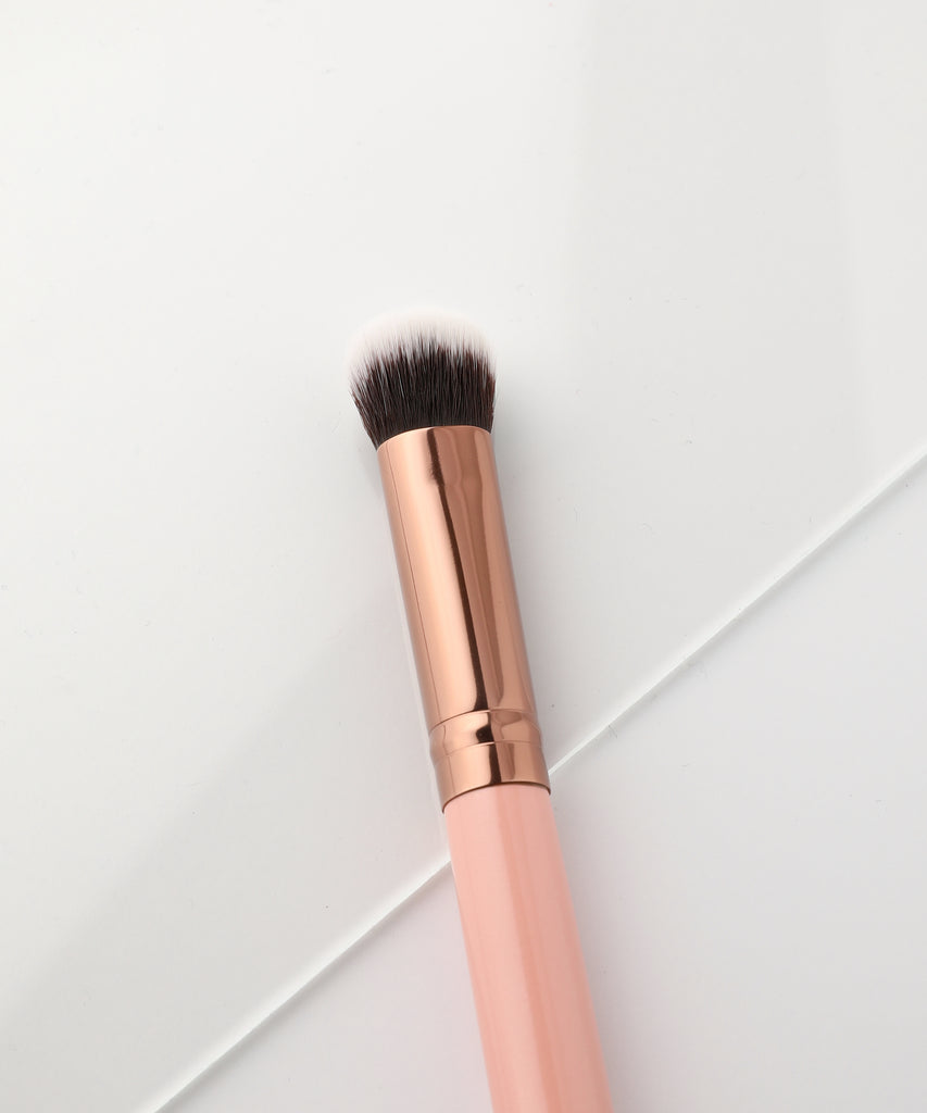 LUXIE 233 Large Fluff Brush - Rose Gold - luxiebeauty