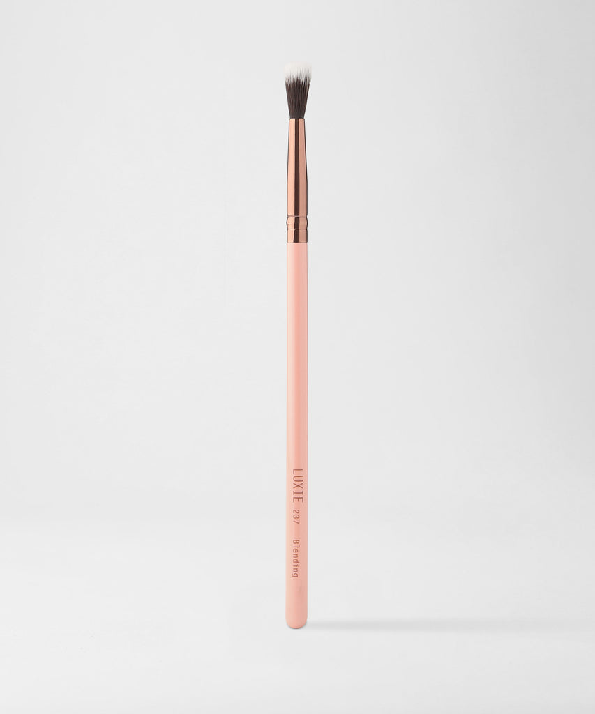 LUXIE 237 Blending Makeup Brush - Rose Gold - luxiebeauty