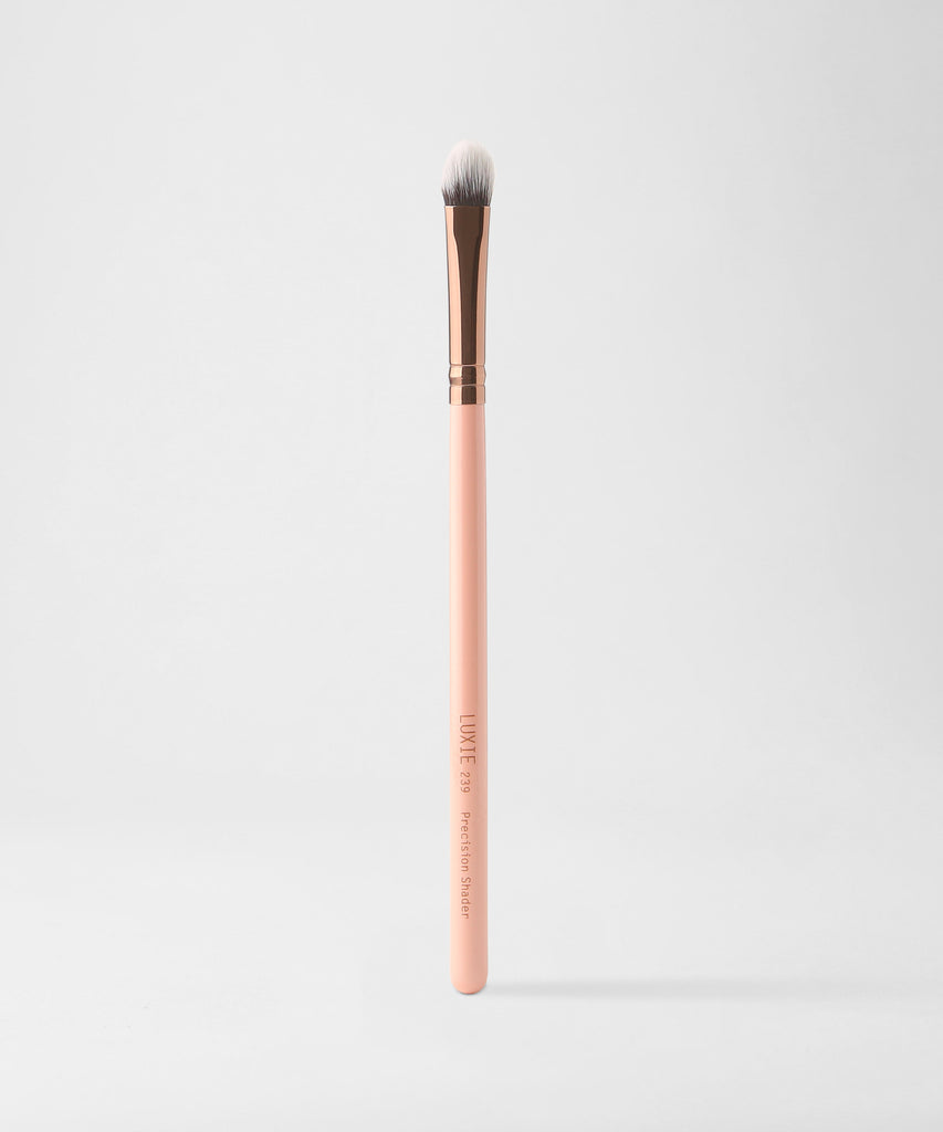 LUXIE 239 Precision Shade Makeup Brush - Rose Gold - luxiebeauty