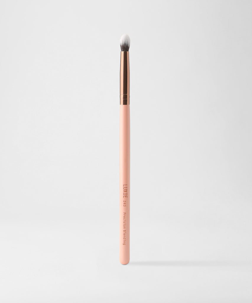 LUXIE 243 Precision Blender Brush - Rose Gold - luxiebeauty