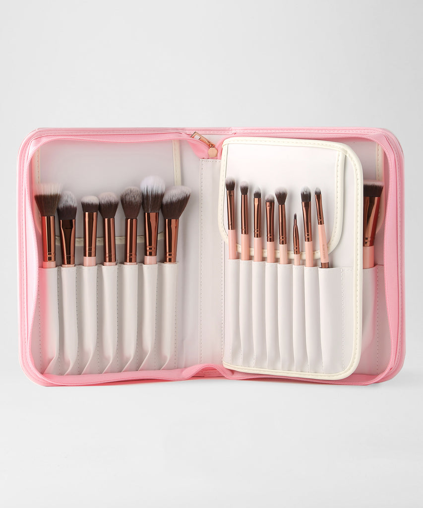 700b043a07fc LUXIE 30 Piece Brush Set-Rose Gold