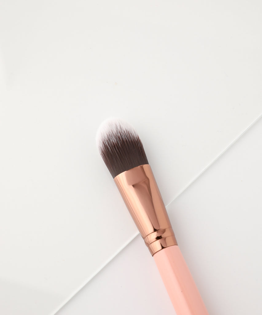LUXIE 510 Foundation Brush - Rose Gold - luxiebeauty