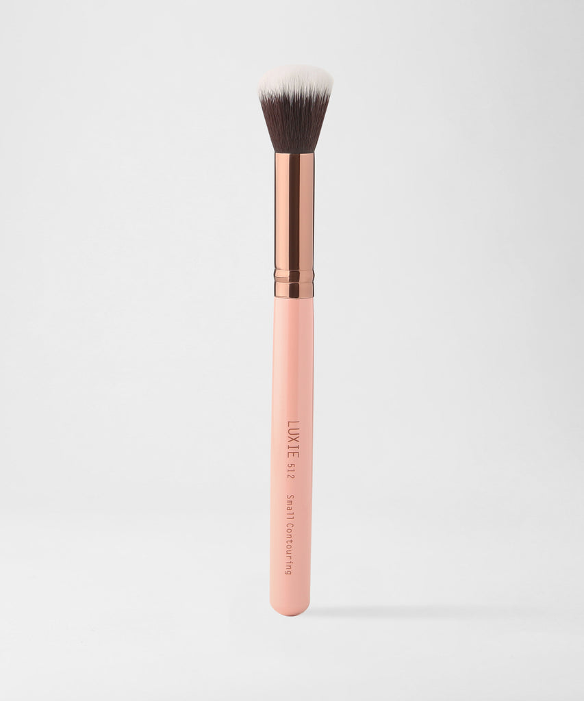 LUXIE 512 Small Contouring Brush - Rose Gold - luxiebeauty