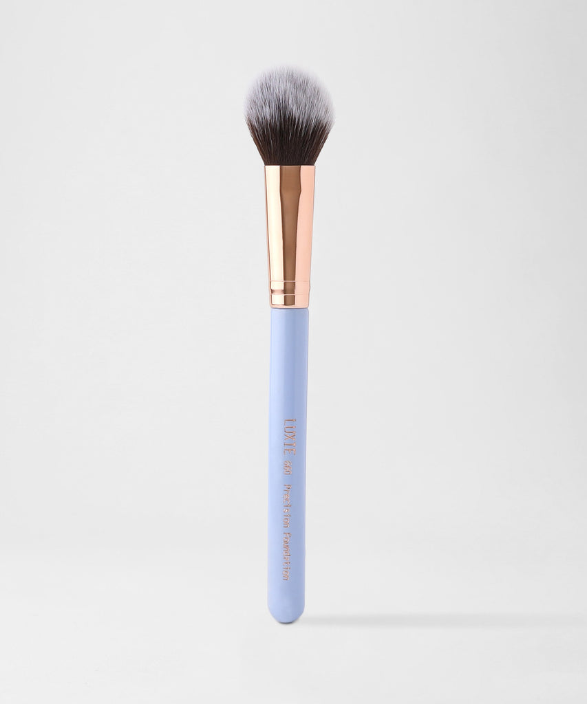Luxie 660 Precision Foundation Brush - Dreamcatcher - LuxieBeauty