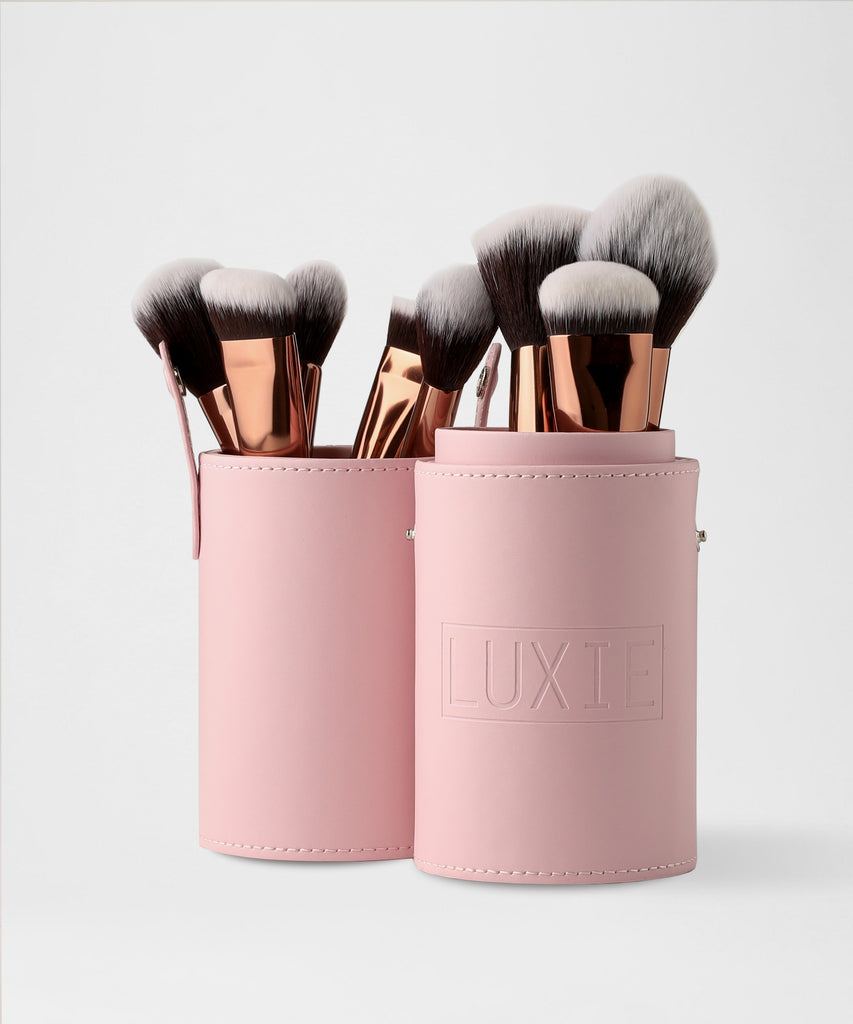 LUXIE Pink Brush Cup Holder - luxiebeauty