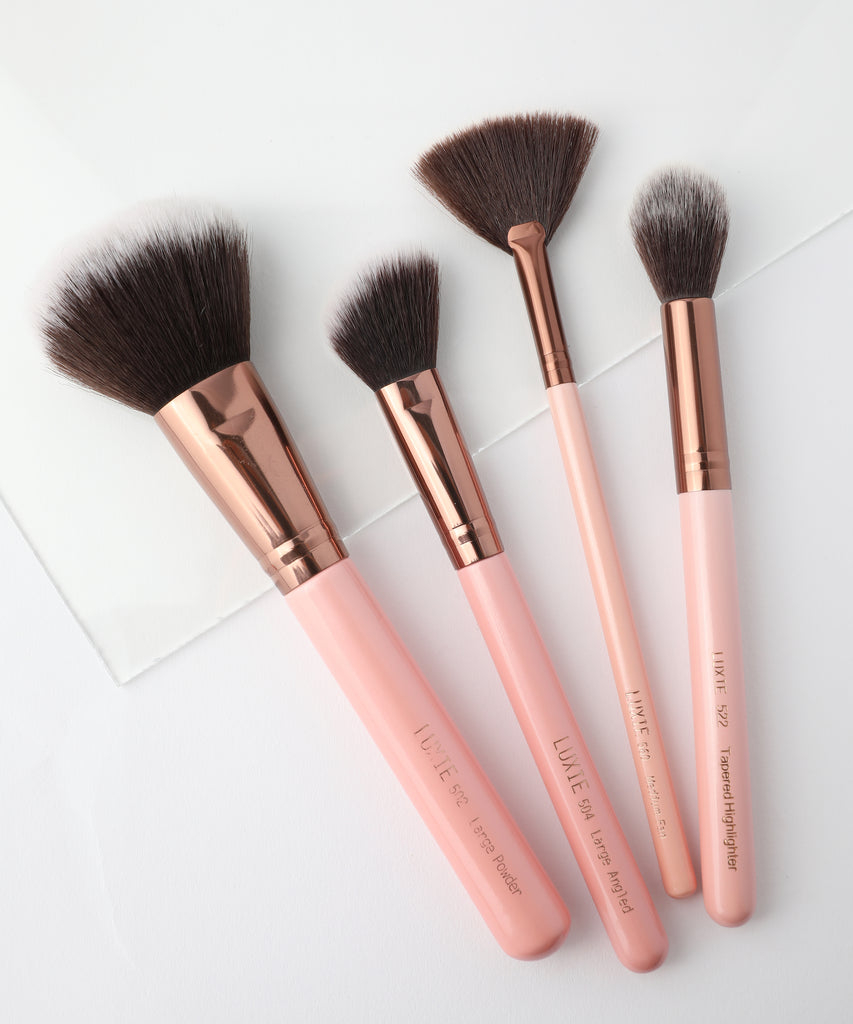 Luxie Classic Face Brush Set - luxiebeauty