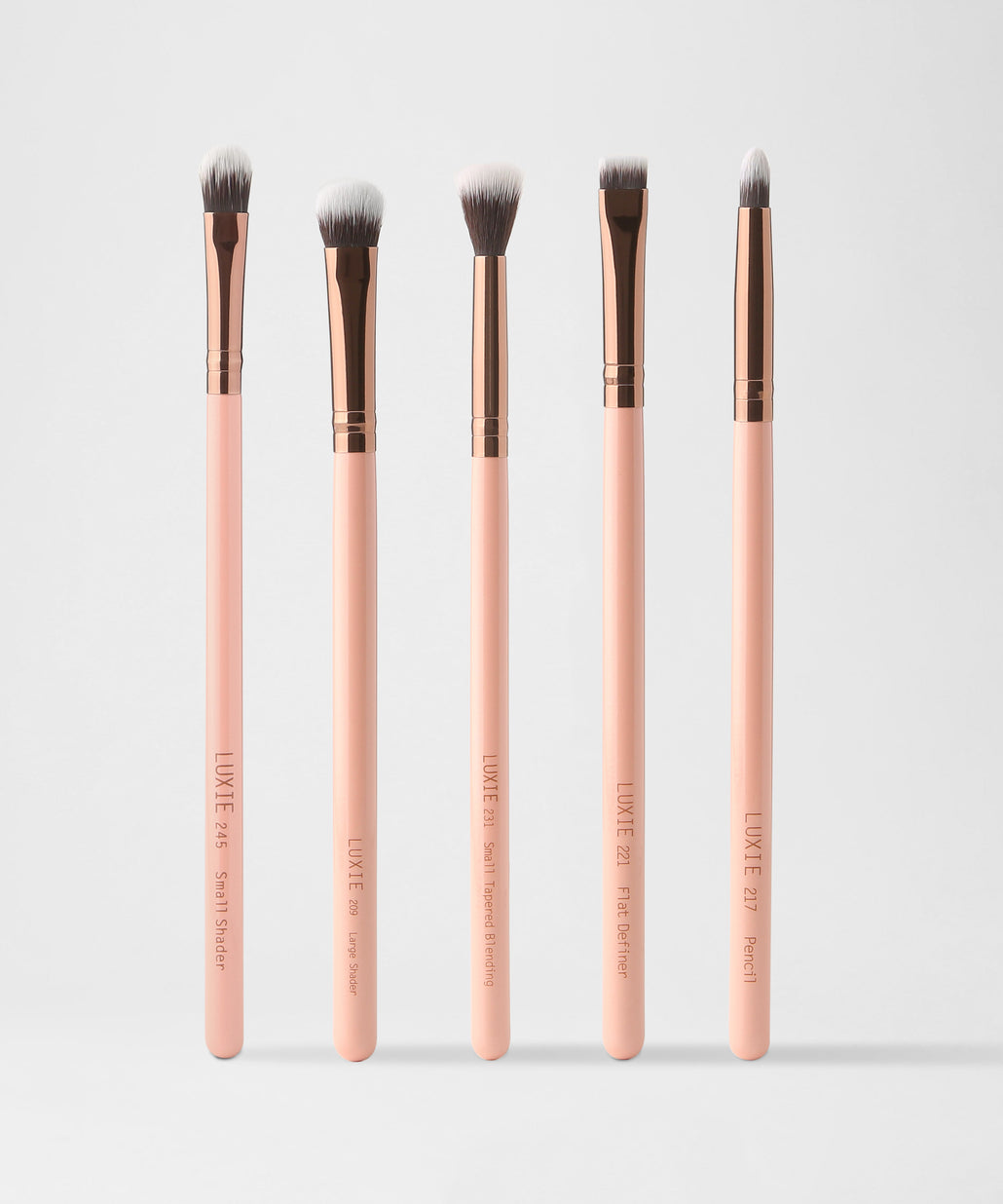 LUXIE Eyeconic Eye Set - Rose Gold