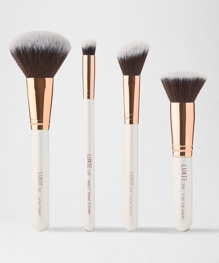 LUXIE Flawless Face Brush Set - luxiebeauty