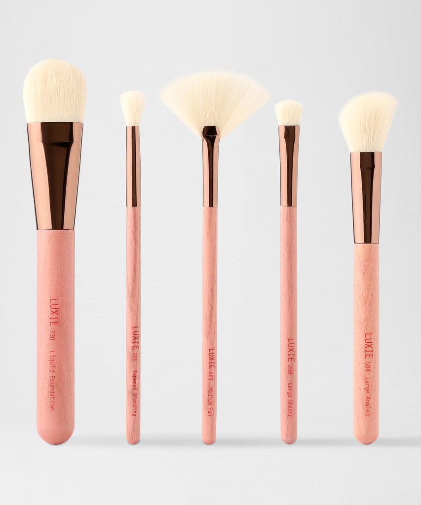 LUXIE Face And Eye Brush Set-Gaea - luxiebeauty