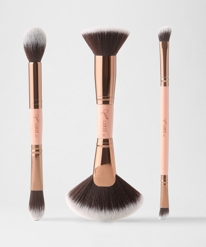 LUXIE Contour Brush Set-Jadeywadey 180 - luxiebeauty