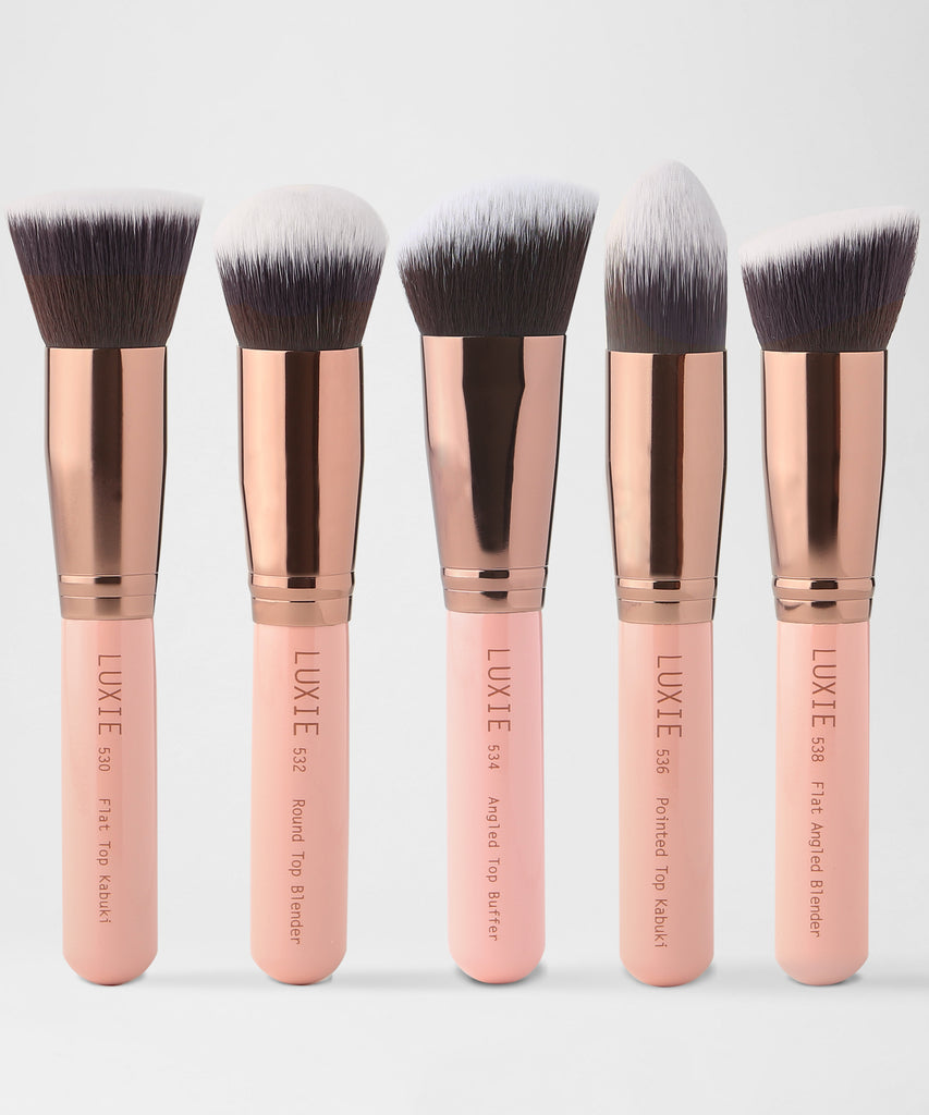 Luxie Kabuki Makeup Brush Set - luxiebeauty