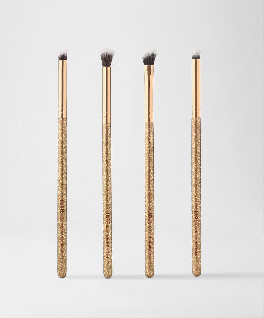 LUXIE Luminous Eye Makeup Brush Set - luxiebeauty